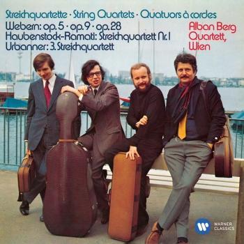 Cover Webern, Haubenstock-Ramati & Urbanner: String Quartets (Remastered)