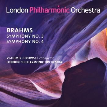 Cover Brahms: Symphonies Nos. 3 & 4