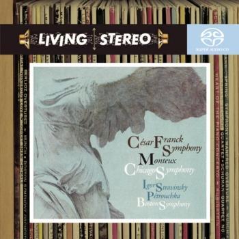 Cover Franck: Symphony in D Minor / Stravinsky: Petrouchka