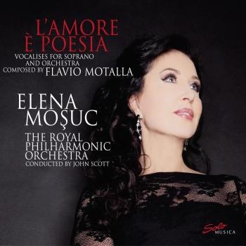 Cover Motalla: L'Amore e Poesia - Vocalises for Soprano and Orchestra
