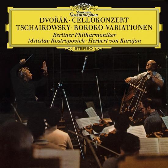 Cover Dvorák: Cello Concerto / Tchaikovsky: Variations On A Rococo Theme