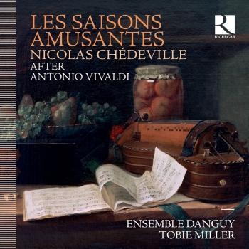 Cover Chédeville: Les saisons amusantes (D'après Antonio Vivaldi)