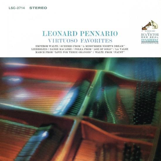 Cover Leonard Pennario Plays His Virtuoso Favorites (Remastered)