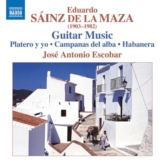 Cover Sáinz de la Maza: Guitar Music