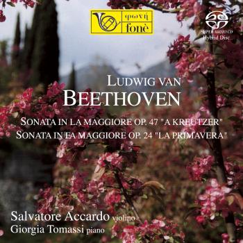 Cover Beethoven: Sonata Op. 47 e Op. 24