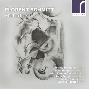 Cover Florent Schmitt: Mélodies