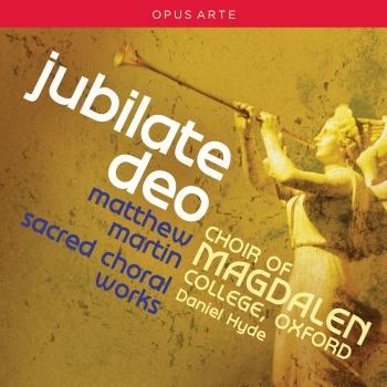 Cover Martin: Jubilate Deo