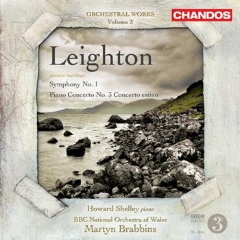 Cover Kenneth Lieghton Orchestral Music, Vol. 3