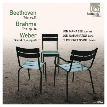 Cover Beethoven, Brahms, Weber: Trios & Duo