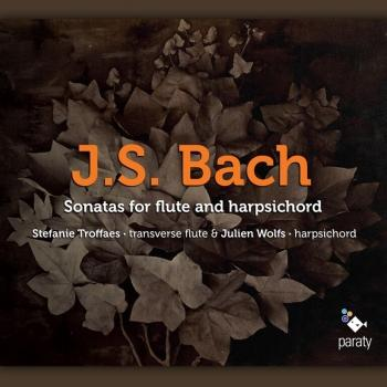 Cover J.S. Bach: Sonatas for Flute and Harpsichord