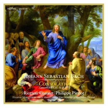 Cover J.S. Bach: Consolatio