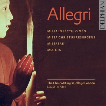 Cover Allegri: Masses, Miserere & Motets
