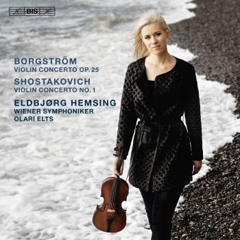 Cover Borgström & Shostakovich: Violin Concertos