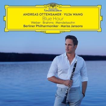 Cover Blue Hour – Weber, Brahms, Mendelssohn