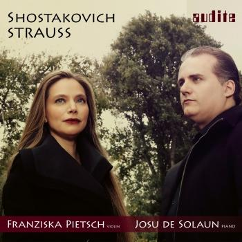 Cover Strauss & Shostakovich: Sonatas for Violin & Piano