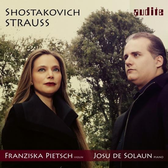 Cover Strauss & Shostakovich: Sonatas for Violin & Piano