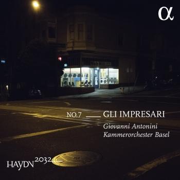Cover Haydn 2032, Vol. 7: Gli impresari