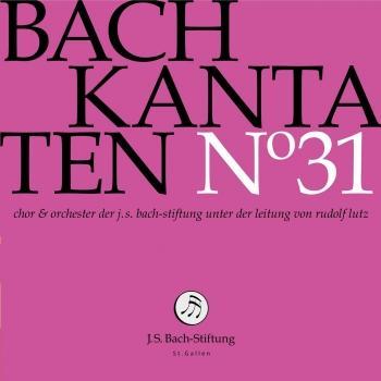 Cover J.S. Bach: Cantatas, Vol. 31 (Live)