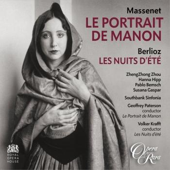 Cover Massenet: Le Portrait de Manon - Berlioz: Les Nuits d'été