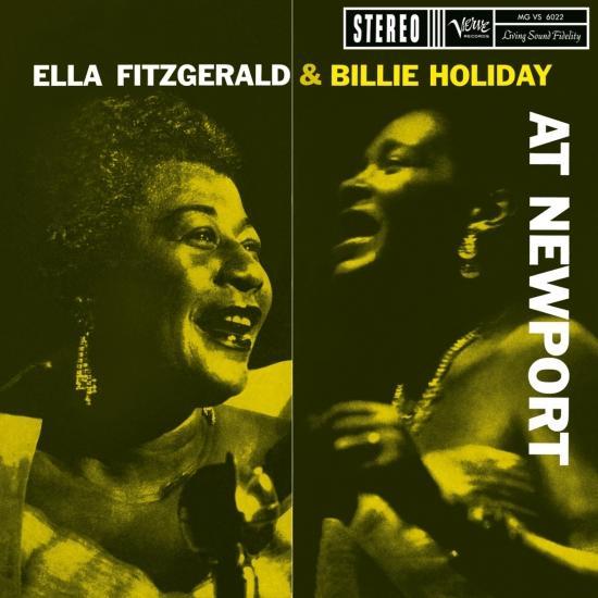 Cover Ella Fitzgerald & Billie Holiday At Newport (Remastered)