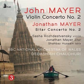 Cover John Mayer & Jonathan Mayer: Orchestral Works