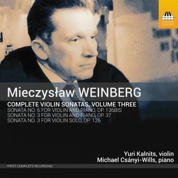 Cover Weinberg: Complete Violin Sonatas, Vol. 3