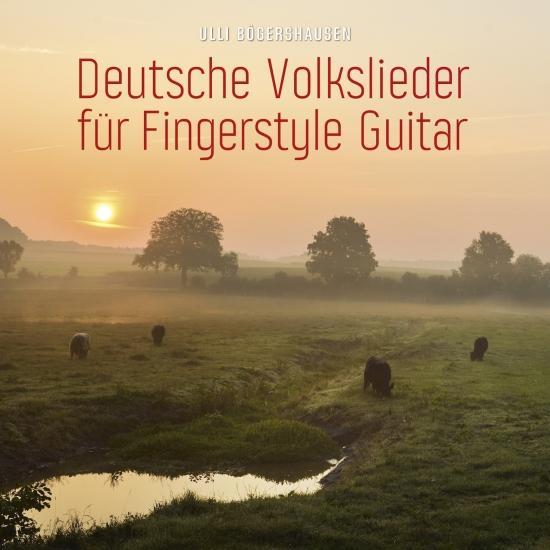 Cover Deutsche Volkslieder fuer Fingerstyle Guitar