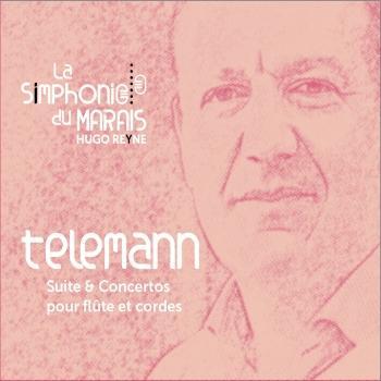 Cover Telemann : Concertos & suite pour flûte et cordes