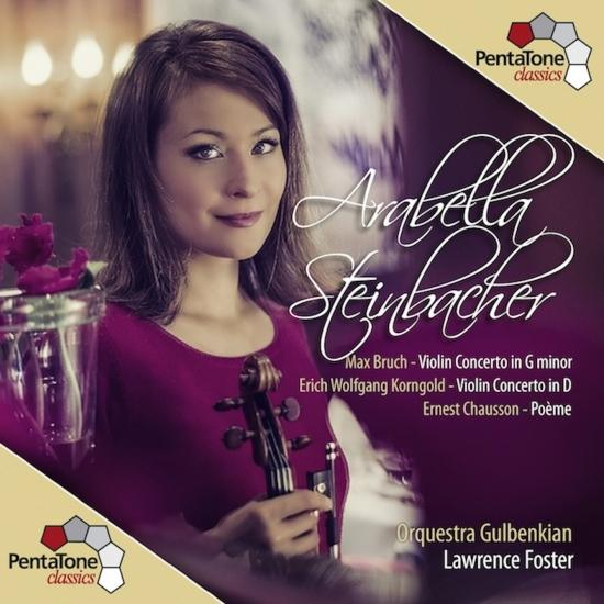 Cover Bruch / Korngold / Chausson: Violin Concertos