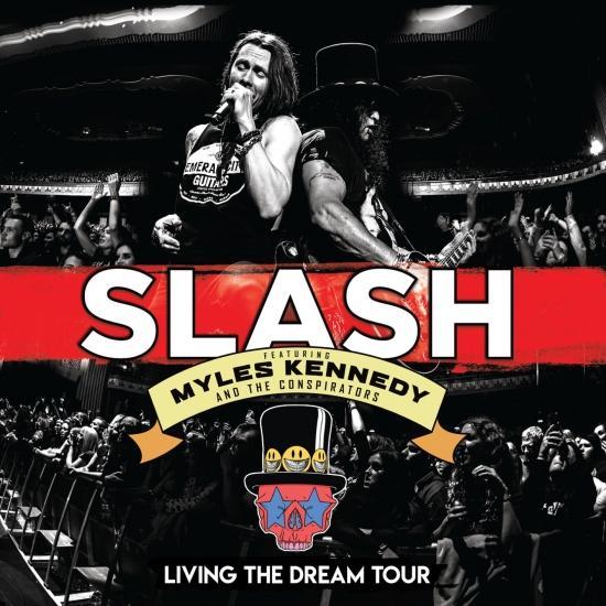 Cover Living The Dream Tour (Live)