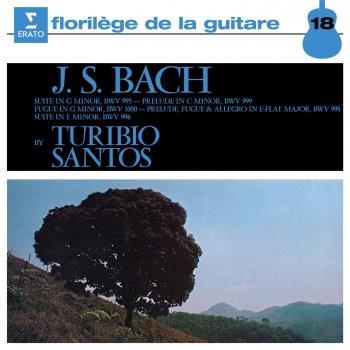Cover Bach: Guitar Pieces, BWV 995, 996, 998, 999 & 1000