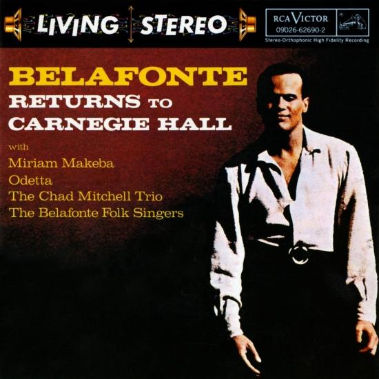 Cover Belafonte Returns to Carnegie Hall Live (Remastered)