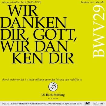 Cover Bachkantate, BWV 29 - Wir danken dir, Gott, wir danken dir
