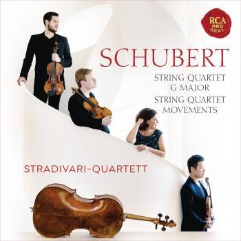Cover Schubert: String Quartet, D. 887 & Quartettsätze, D. 703 & D. 103