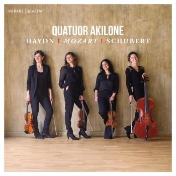 Cover Haydn, Mozart & Schubert