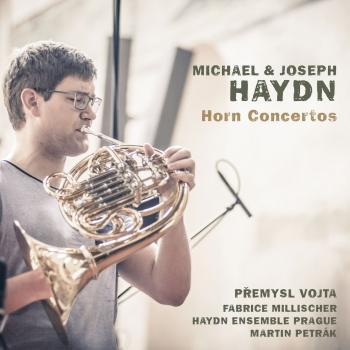 Cover Michael & Joseph Haydn: Horn Concertos
