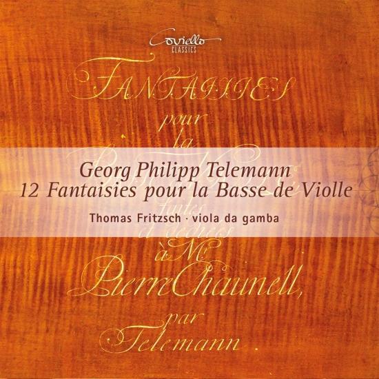 Cover Georg Philipp Telemann: 12 Fantaisies pour la Basse de Viole