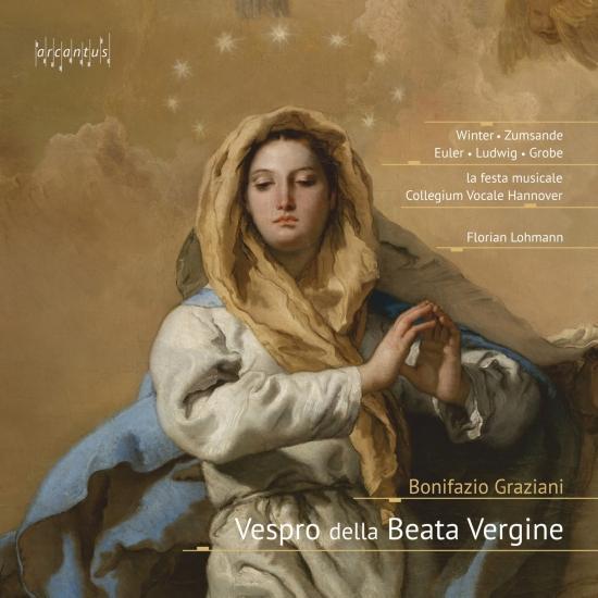 Cover Bonifazio Graziani: Vespro della Beata Vergine