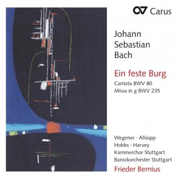 Cover J.S. Bach: Ein feste Burg