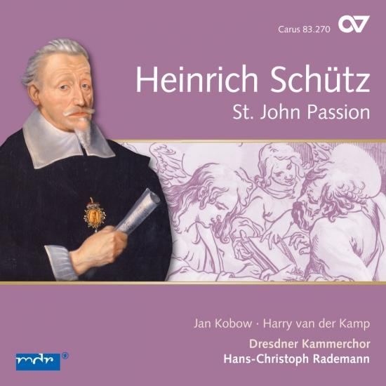 Cover Schütz: Johannespassion, SWV 481