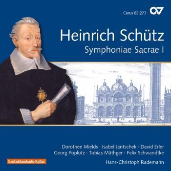 Cover Schütz: Symphoniae sacrae I, Op. 6