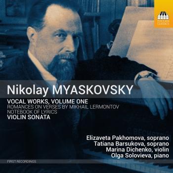 Cover Myaskovsky: Vocal Works, Vol. 1