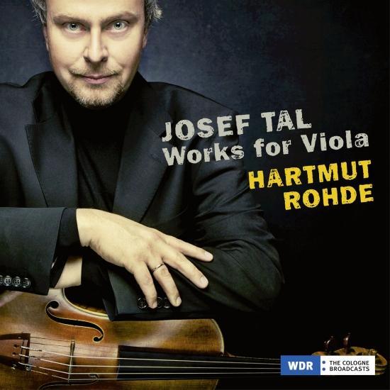 Cover Josef Tal: Works for Viola