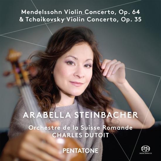 Cover Mendelssohn & Tchaikovsky: Violin Concertos