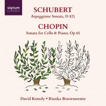Cover Schubert: Arpeggione Sonata - Chopin: Cello Sonata