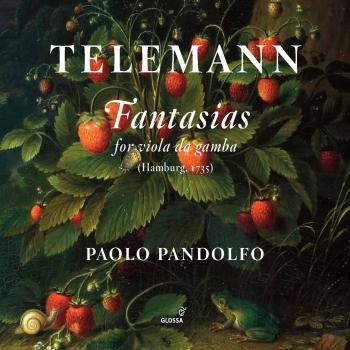 Cover Telemann: Fantasias for Viola da gamba