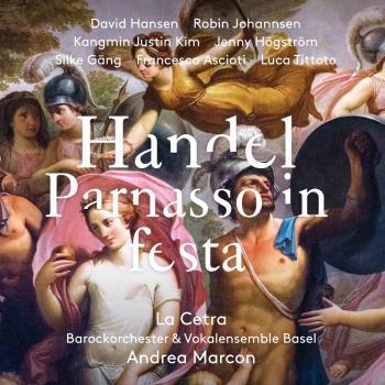 Cover Handel: Parnasso in festa, HWV 73 (Live)