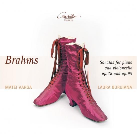 Cover Brahms: Sonatas for Piano & Violoncello, Op. 38 & Op. 99