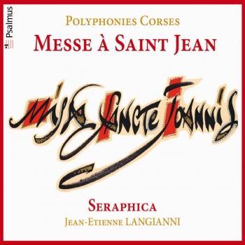 Cover Polyphonies corses: Messe à Saint Jean