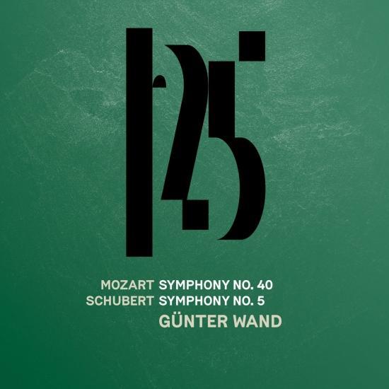 Cover Mozart: Symphony No. 40 - Schubert: Symphony No. 5 (Live)